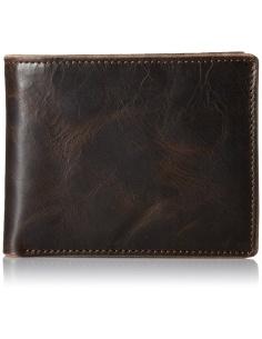Portofel barbatesc negru Fossil Anderson ML3705001