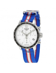 Ceas barbatesc Tissot Quickster NBA Teams Detroit Pistons T095.417.17.037.22 T0954171703722