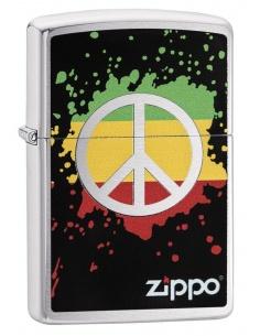 Bricheta Zippo 29606 Peace Sign
