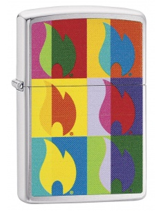 Bricheta Zippo 29623 Abstract Flame