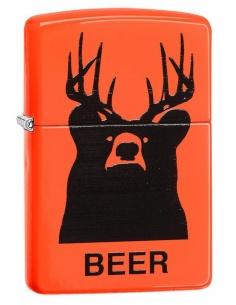 Bricheta Zippo 29343 Deer Beer Bear Neon