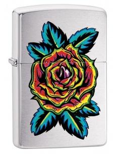 Bricheta Zippo 29399 Blooming Rose