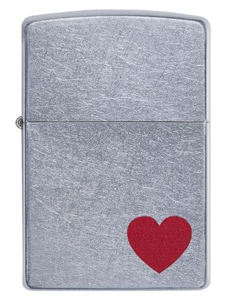 Bricheta Zippo 29060 Red Heart