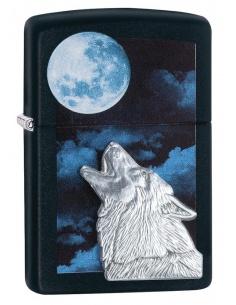 Bricheta Zippo 28879 Howling Wolf