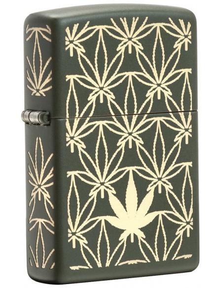 Bricheta Zippo 29589 Pot Leaf Design