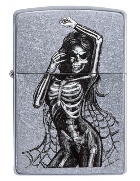 Bricheta Zippo 29403 Dancing Skeleton