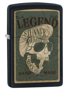 Bricheta Zippo 29630 Legendary Rocker Skull