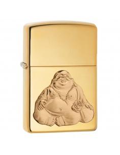 Bricheta Zippo 29626 Laughing Buddha Happy Emblem