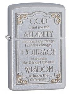 Bricheta Zippo 28458 Serenity Prayer