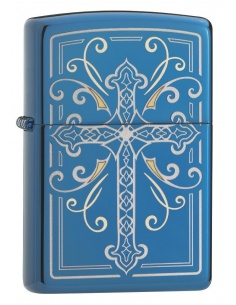 Bricheta Zippo 29608 Elegant Cross Design