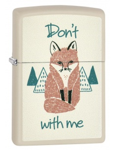 Bricheta Zippo 29615 Dont Fox With Me