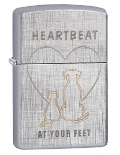 Bricheta Zippo 29258 Heartbeat At Your Feet