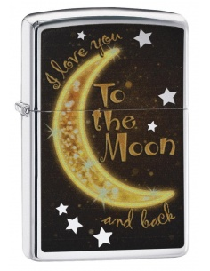 Bricheta Zippo 29059 I Love You to the Moon & Back