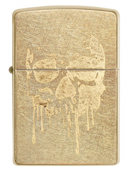 Bricheta Zippo 29401 Grunge Skull