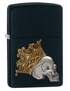 Bricheta Zippo 29100 Skull With Crown