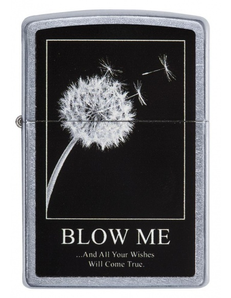 Bricheta Zippo 29621 Blow Me And Your Wishes Will Come True