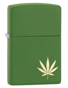 Bricheta Zippo 29588 Marijuana-Pot Leaf