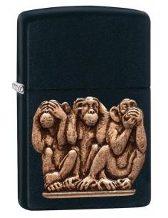 Bricheta Zippo 29409 Three Monkeys