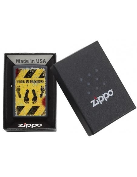 Bricheta Zippo 29624 Feet Hazard