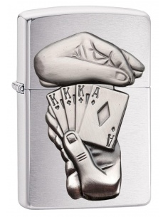 Bricheta Zippo 29396 Full House Surprise