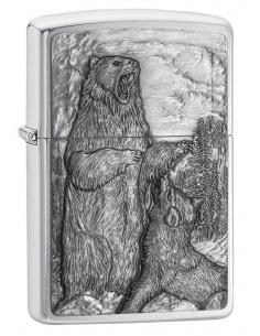 Bricheta Zippo 29636 Bear vs. Wolf