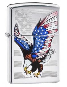 Bricheta Zippo 28449 American Eagle Flag