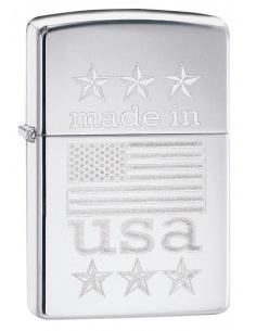 Bricheta Zippo 29430 Made in USA Flag