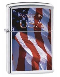 Bricheta Zippo 24797 Made in USA Flag
