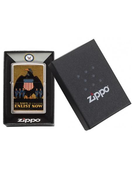 Bricheta Zippo 29597 US Navy Is Calling Enlist Now
