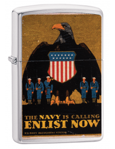 Bricheta Zippo 29597 US Navy Is Calling Enlist Now