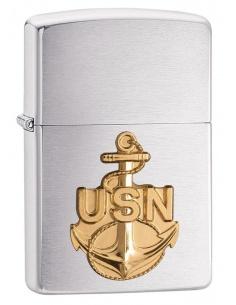 Bricheta Zippo 280ANC Navy Anchor Crest Emblem