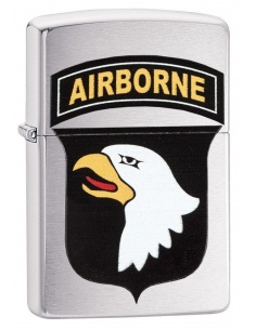 Bricheta Zippo 29185 US Army 101st Airborne Eagle