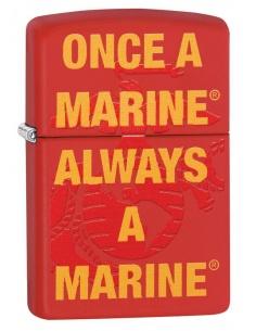 Bricheta Zippo 29387 Once a Marine Always a Marine