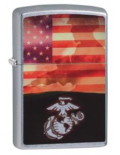 Bricheta Zippo 29123 US Flag Soldier
