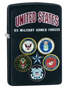 Bricheta Zippo 28898 US Military Armed Forces