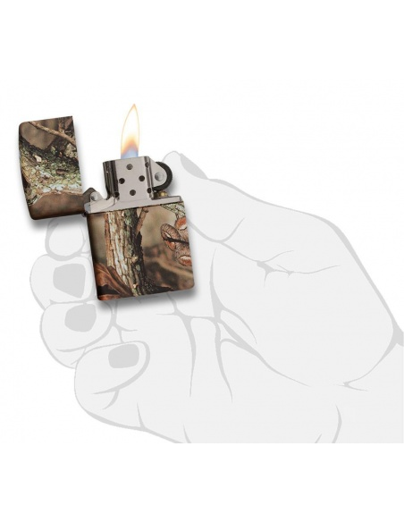 Bricheta Zippo 28738 Mossy Oak Break Up Infinity Camoflage