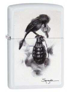 Bricheta Zippo 29645 Spazuk Bird & Grenade