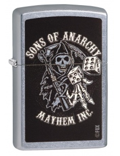 Bricheta Zippo 29582 Sons of Anarchy Mayhem Inc
