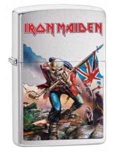Bricheta Zippo 29432 Iron Maiden Eddie Head