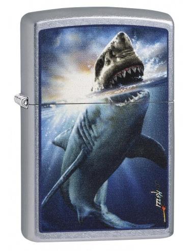 Bricheta Zippo 29568 Mazzi Shark Attack