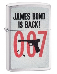 Bricheta Zippo 29563 James Bond is back!