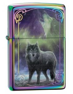 Bricheta Zippo 29348 Anne Stokes Wolf Spectrum