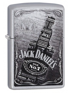 Bricheta Zippo 29285 Jack Daniel's Collage Whiskey Bottle