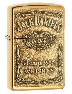 Bricheta Zippo 254BJD.428 Jack Daniel's Label Emblem
