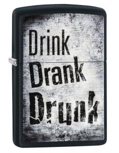 Bricheta Zippo 29618 Drink-Drank-Drunk