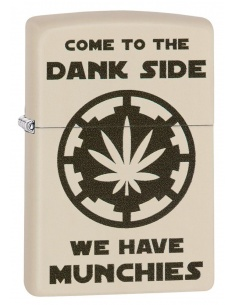 Bricheta Zippo 29590 Pot Leaf Come to the Dank Side Munchies
