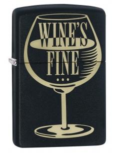 Bricheta Zippo 29611 Wine's Fine - Liquor's Quicker