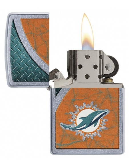 Bricheta Zippo 29367 Miami Dolphins NFL