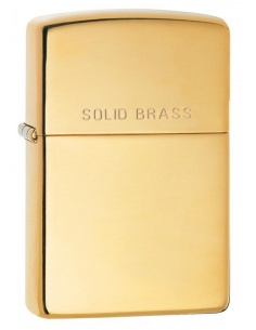 Bricheta Zippo 254 High Polish Solid Brass