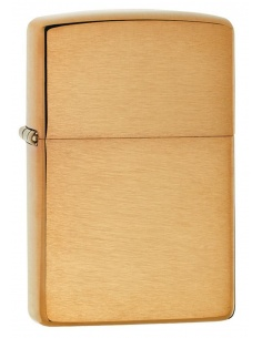Bricheta Zippo 204B Brushed Brass Finish